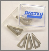 Muzzy 3-blade Replacement Blades for 300 Series,#225,#225-R Includes (320)