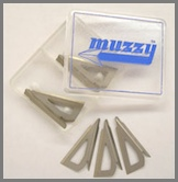 Muzzy 3-blade Replacement Blades for #235,#235-R Includes 6 sets of blades  (330)