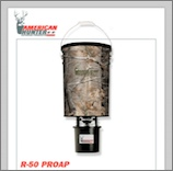 50 LB. HANGING FEEDER W/RD-KIT PRO / REALTREE AP CAMO.